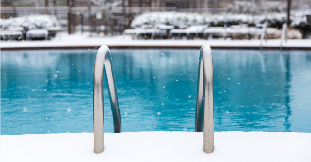 Your Pool in The Winter